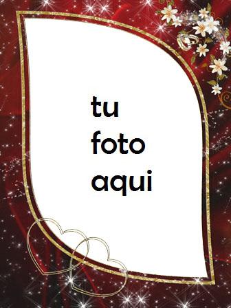 Nuestros Corazones Están Juntos Por Siempre Marco Para Foto - Nuestros Corazones Están Juntos Por Siempre Marco Para Foto