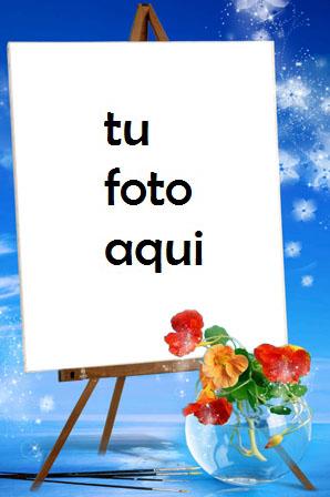 Panel Sobre El Agua Marco Para Foto - Panel Sobre El Agua Marco Para Foto