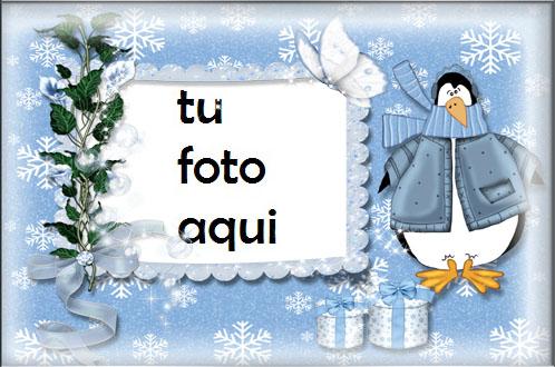 Patos De Invierno Y Nieve Marcos Para Foto - Patos De Invierno Y Nieve Marcos Para Foto