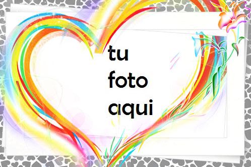 Primavera En Mi Corazón Marco Para Foto - Primavera En Mi Corazón Marco Para Foto