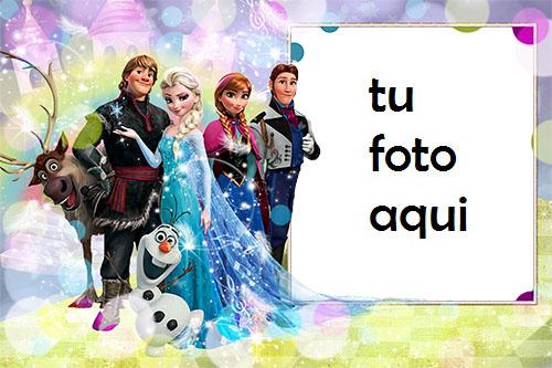 Princesa De Nieve Congelada Marcos Para Foto - Princesa De Nieve Congelada Marcos Para Foto
