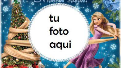 Photo of Rapunzel Feliz Navidad Marcos Para Foto