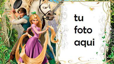 Photo of Rapunzel Y Pelos Mágicos Marcos Para Foto