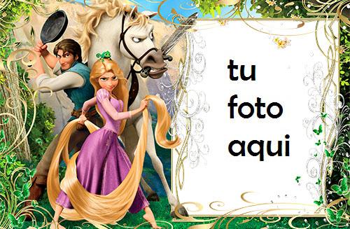 Rapunzel Y Pelos Mágicos Marcos Para Foto - Rapunzel Y Pelos Mágicos Marcos Para Foto