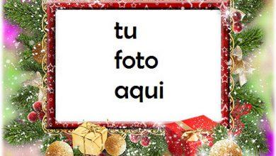 Regalos De Año Nuevo En La Nieve Marco Para Foto 390x220 - Regalos De Año Nuevo En La Nieve Marco Para Foto