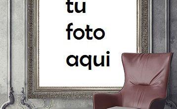 Retrato Detrás Del Sillón Marco Para Foto 358x220 - Retrato Detrás Del Sillón Marco Para Foto