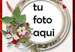 Photo of Romántica San Valentín Imagen Hermosa Marco Para Foto