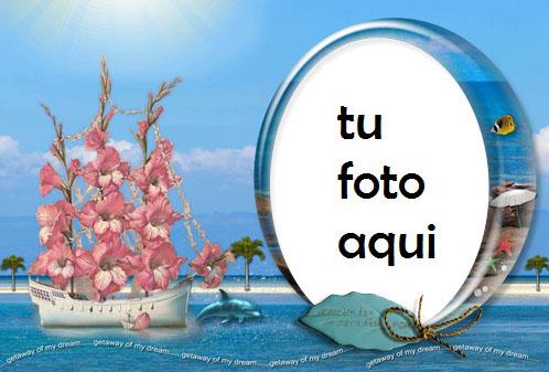 Rosa Y Mar Marco Para Foto - Rosa Y Mar Marco Para Foto