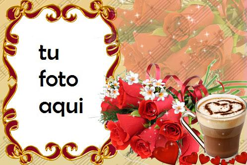 Rosa roja del amor Marco Para Foto - Rosa roja del amor Marco Para Foto