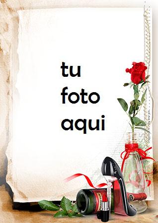 Rose es nuestro amor romántico más hermoso Marco Para Foto - Rose es nuestro amor romántico más hermoso Marco Para Foto