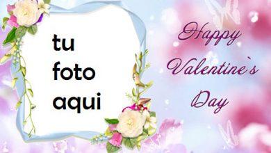 San Valentín Hermosa Y Gentil Contigo Marco Para Foto 390x220 - San Valentín Hermosa Y Gentil Contigo Marco Para Foto