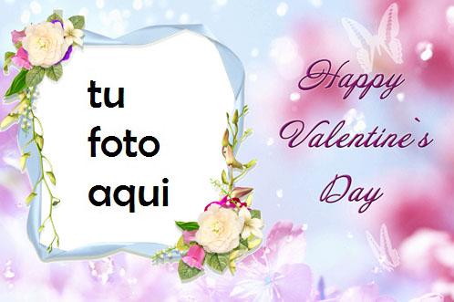 San Valentín Hermosa Y Gentil Contigo Marco Para Foto - San Valentín Hermosa Y Gentil Contigo Marco Para Foto