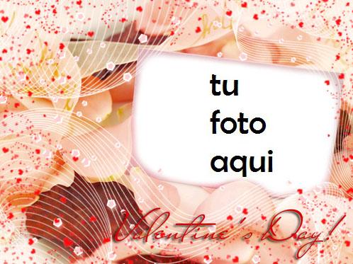 San Valentín Lleno De Amor Marco Para Foto - San Valentín Lleno De Amor Marco Para Foto