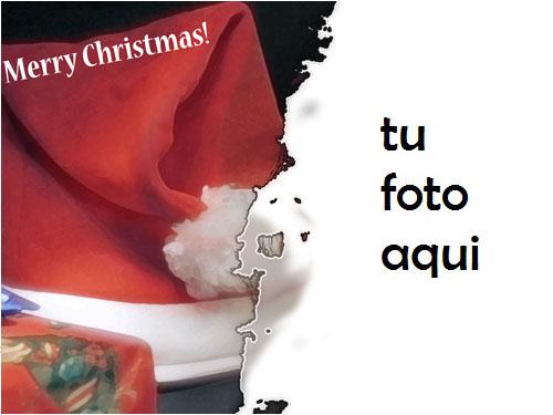 Santa Claus En Nochevieja Marco Para Foto - Santa Claus En Nochevieja Marco Para Foto