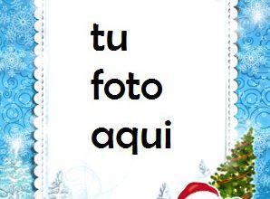 Santa Claus Se Apresura A Vacaciones Marco Para Foto 298x220 - Santa Claus Se Apresura A Vacaciones Marco Para Foto