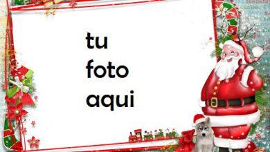Santa Claus Te Desea Un Feliz Año Marco Para Foto 390x220 - Santa Claus Te Desea Un Feliz Año Marco Para Foto