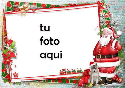 Santa Claus Te Desea Un Feliz Año Marco Para Foto - Santa Claus Te Desea Un Feliz Año Marco Para Foto