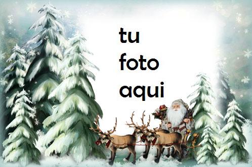 Santa En Camino Marco Para Foto - Santa En Camino Marco Para Foto