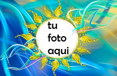 Sol Romántico Marco Para Foto - Sol Romántico Marco Para Foto