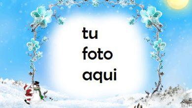 Photo of Soleado Día De Navidad Marco Para Foto