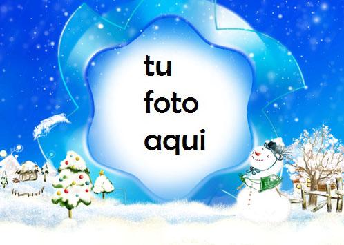 Sueño De Invierno Marco Para Foto - Sueño De Invierno Marco Para Foto