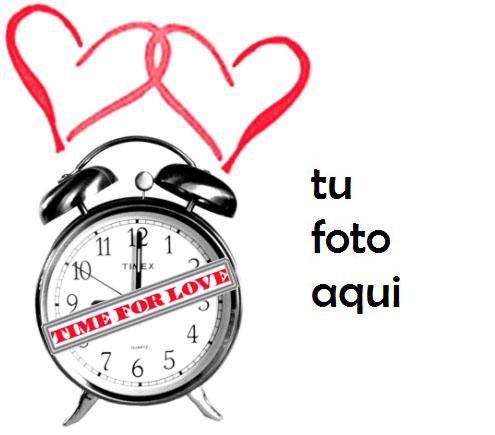 Tiempo de amor Marco Para Foto - Tiempo de amor Marco Para Foto