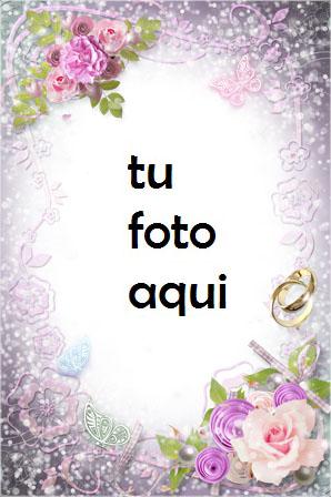 Tierna Felicidad Marco Para Foto - Tierna Felicidad Marco Para Foto