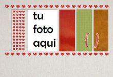 Toalla Romántica Marco Para Foto 220x150 - Toalla Romántica Marco Para Foto