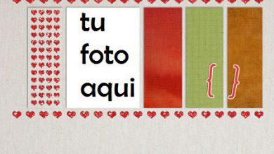 Toalla Romántica Marco Para Foto 390x220 - Toalla Romántica Marco Para Foto