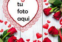 Un Corazón Rojo Delgado Y Hermoso Para El Día De San Valentín Marco Para Foto 220x150 - Un Corazón Rojo Delgado Y Hermoso Para El Día De San Valentín Marco Para Foto