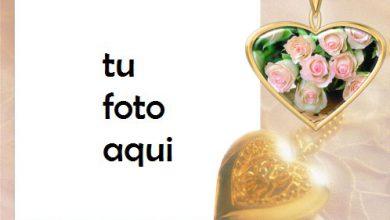 Photo of Un Corazon De Oro Marco Para Foto