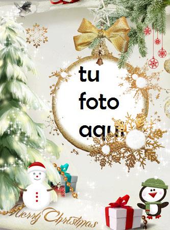 Un Hermoso Marco Dorado Para Navidad Marco Para Foto - Un Hermoso Marco Dorado Para Navidad Marco Para Foto