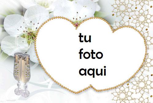 boda marcos Diamante romántico marco para foto - boda marcos Diamante romántico marco para foto