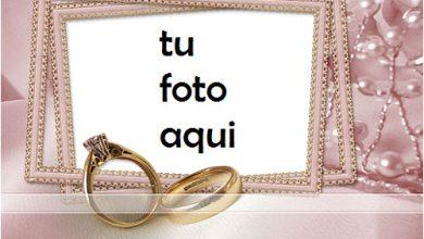 Photo of boda marcos El anillo más bello para el matrimonio. marco para foto