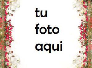Photo of boda marcos Flores románticas para la boda marco para foto