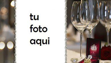 Photo of boda marcos Magnífico anillo de bodas marco para foto