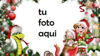 Photo of navidad marcos Feliz año nuevo marco para foto