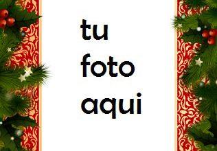 Photo of navidad marcos año nuevo en la nieve marco para foto