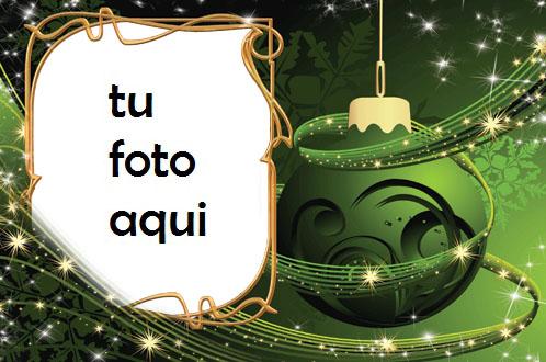 navidad marcos año nuevo locura verde marco para foto - navidad marcos año nuevo locura verde marco para foto