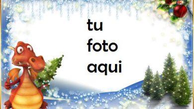 Photo of navidad marcos bola de abeto marco para foto