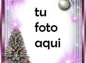 Photo of navidad marcos brillo morado de año nuevo marco para foto