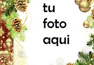 Photo of navidad marcos buena suerte en el año nuevo marco para foto