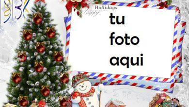 Photo of navidad marcos carta al año nuevo con mis mejores deseos marco para foto