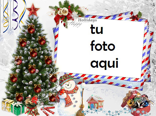 navidad marcos carta al año nuevo con mis mejores deseos marco para foto - navidad marcos carta al año nuevo con mis mejores deseos marco para foto