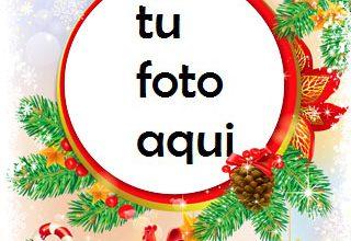 Photo of navidad marcos conoce navidad con caramelos y hombre de pan de jengibre marco para foto