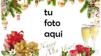 Photo of navidad marcos conocemos el año nuevo juntos marco para foto