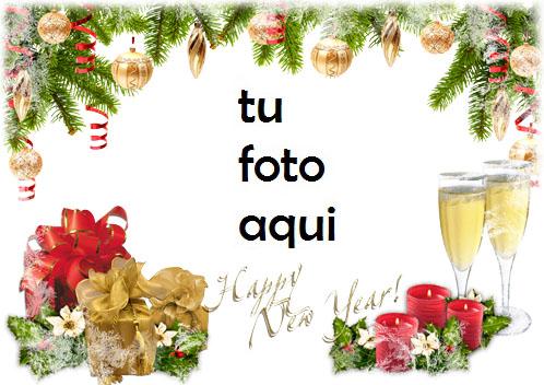 navidad marcos conocemos el año nuevo juntos marco para foto - navidad marcos conocemos el año nuevo juntos marco para foto