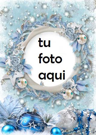 navidad marcos corona de navidad extraordinaria marco para foto - navidad marcos corona de navidad extraordinaria marco para foto