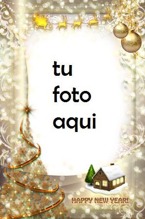 navidad marcos feliz Año Nuevo y feliz Navidad marco para foto - navidad marcos feliz Año Nuevo y feliz Navidad marco para foto