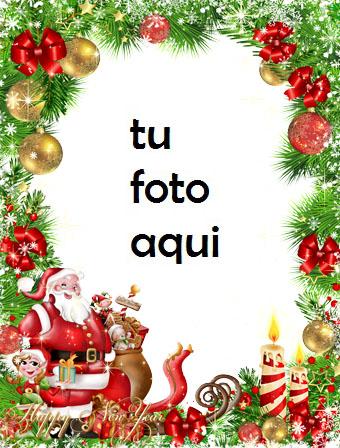 navidad marcos feliz año de la serpiente marco para foto - navidad marcos feliz año de la serpiente marco para foto